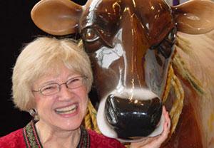 Maryann Weidt at the Children's Museum